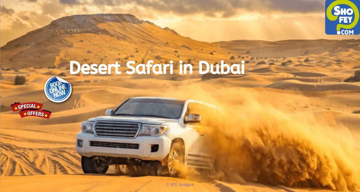 All-Inclusive Desert Safari Deals | Shofey london
