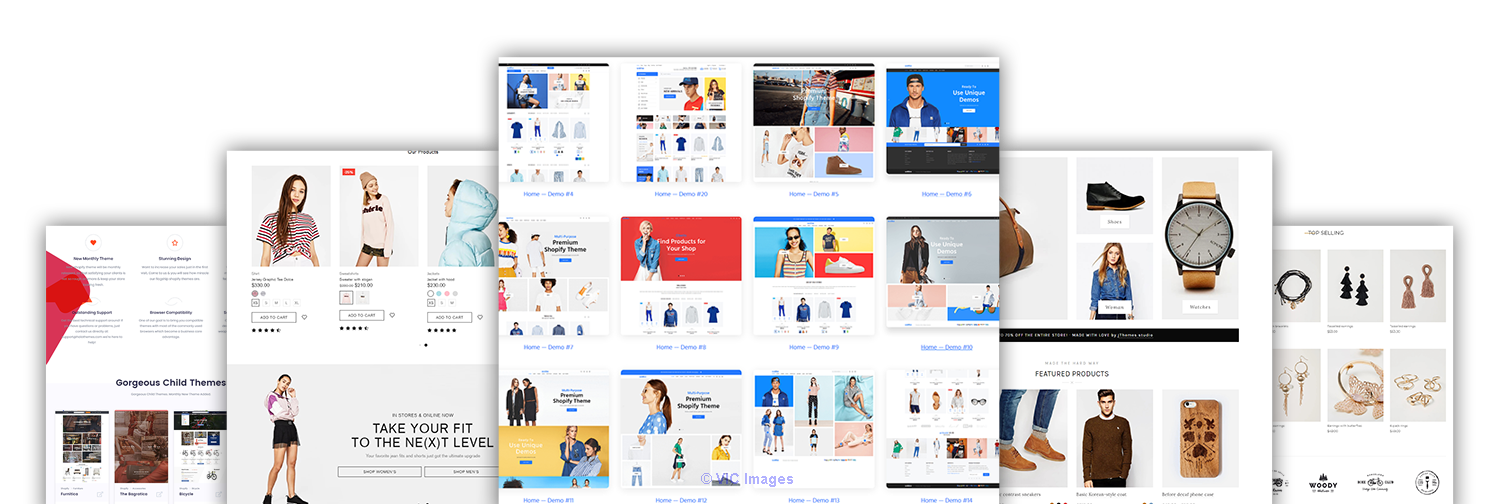 2020's Best Selling Shopify Themes